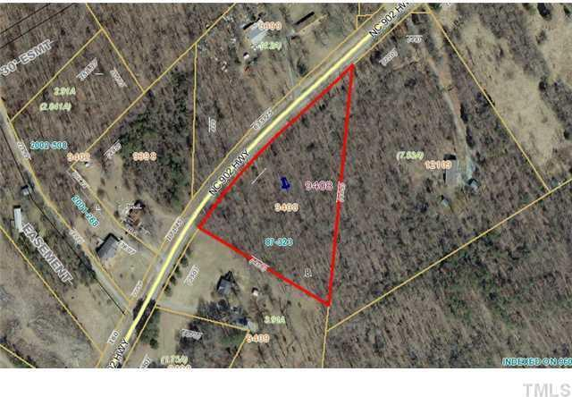 Image of Acreage for Sale near Bear Creek, North Carolina, in Chatham county: 3.91 acres