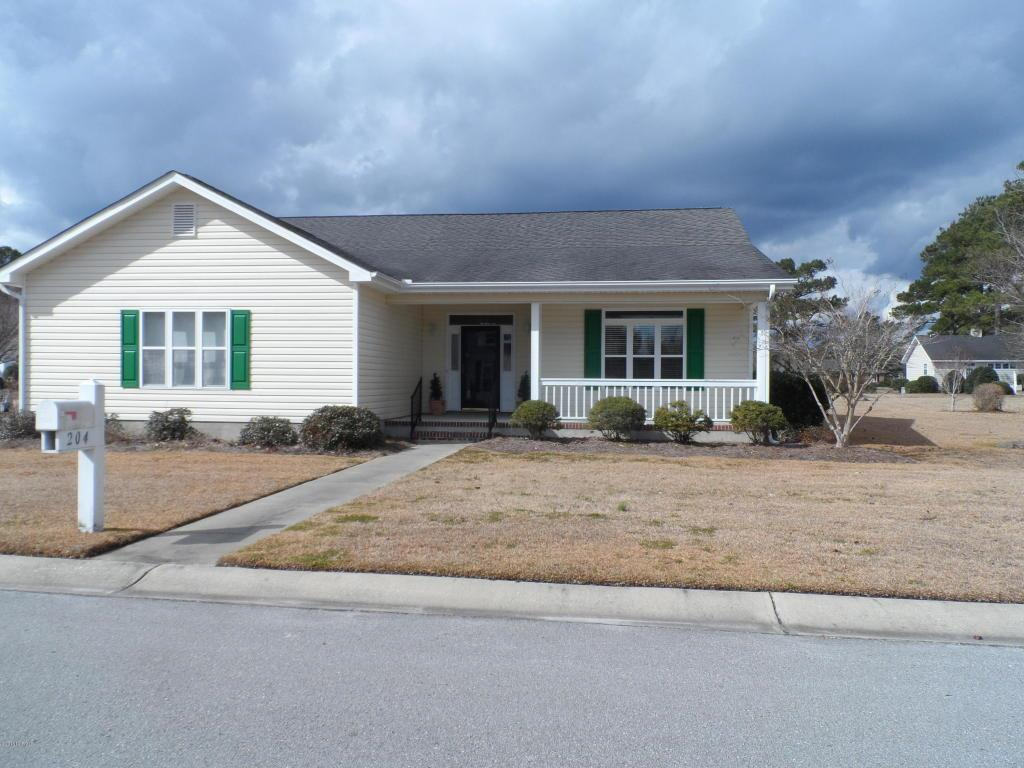 204 Carefree Lane, Crystal Coast in  County, NC 28557 Home for Sale