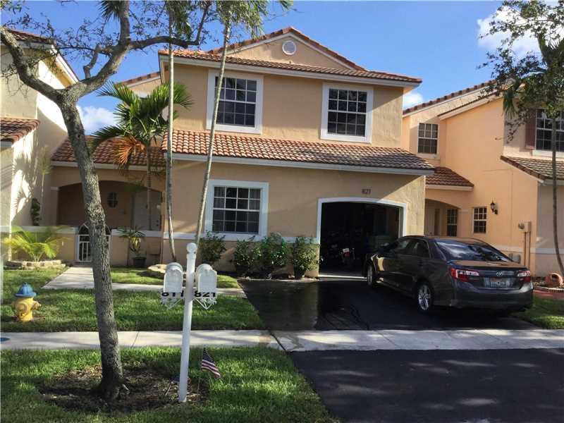 Photo of 821 Southwest 178th Way  Pembroke Pines  FL
