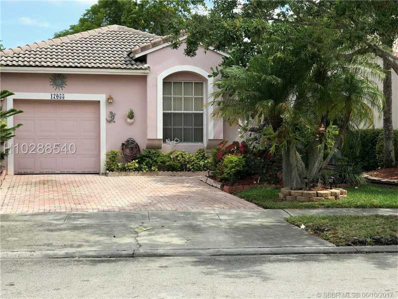 Photo of 17055 Northwest 11th St  Pembroke Pines  FL