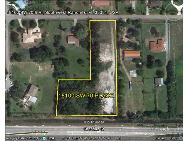 Image of Acreage w/House for Sale near Southwest Ranches, Florida, in Broward county: 3.00 acres