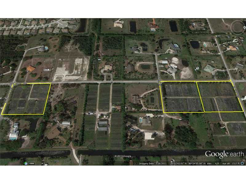 7.16 acres in Southwest Ranches, Florida