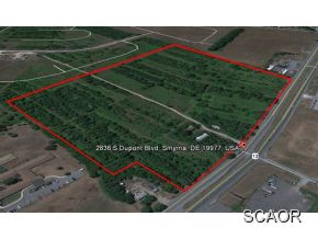Image of Acreage for Sale near Smyrna, Delaware, in Kent county: 40.10 acres
