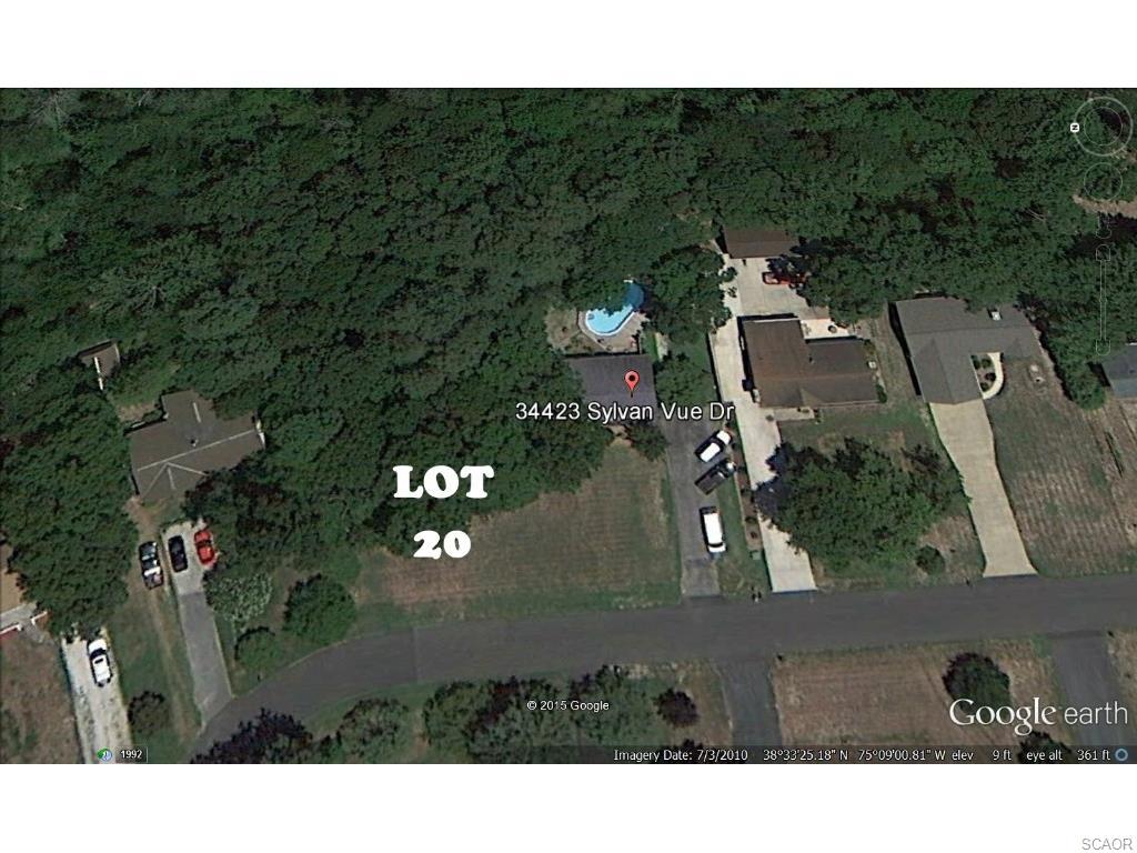 Land for Sale, ListingId:32383909, location: SYLVAN VUE Dagsboro 19939