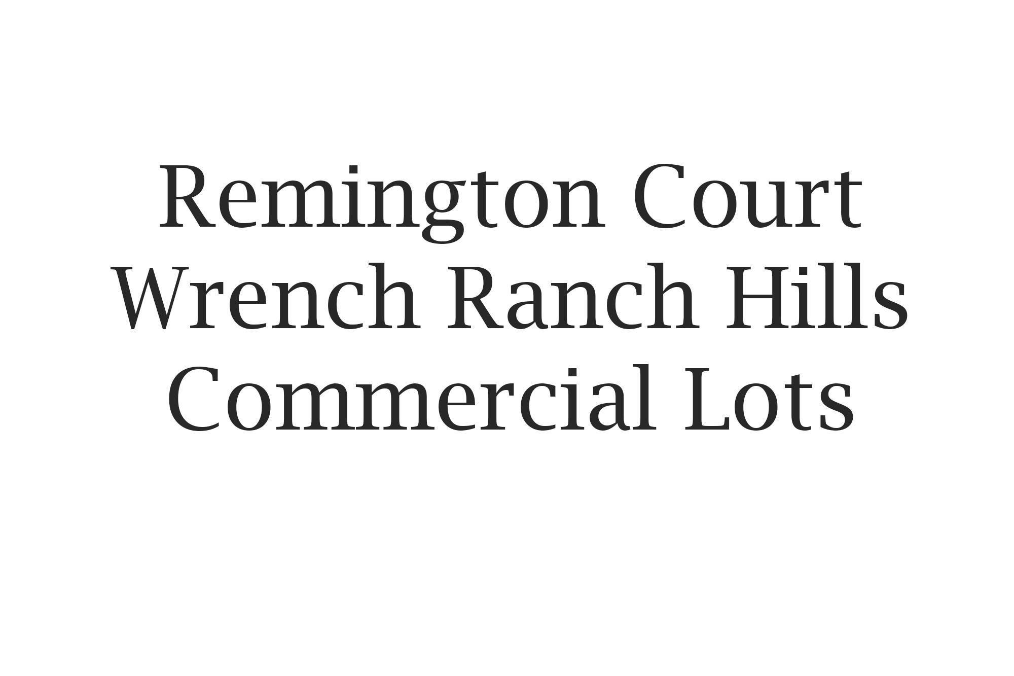 primary photo for 1015 Remington Court Lot 5, Sheridan, WY 82801, US