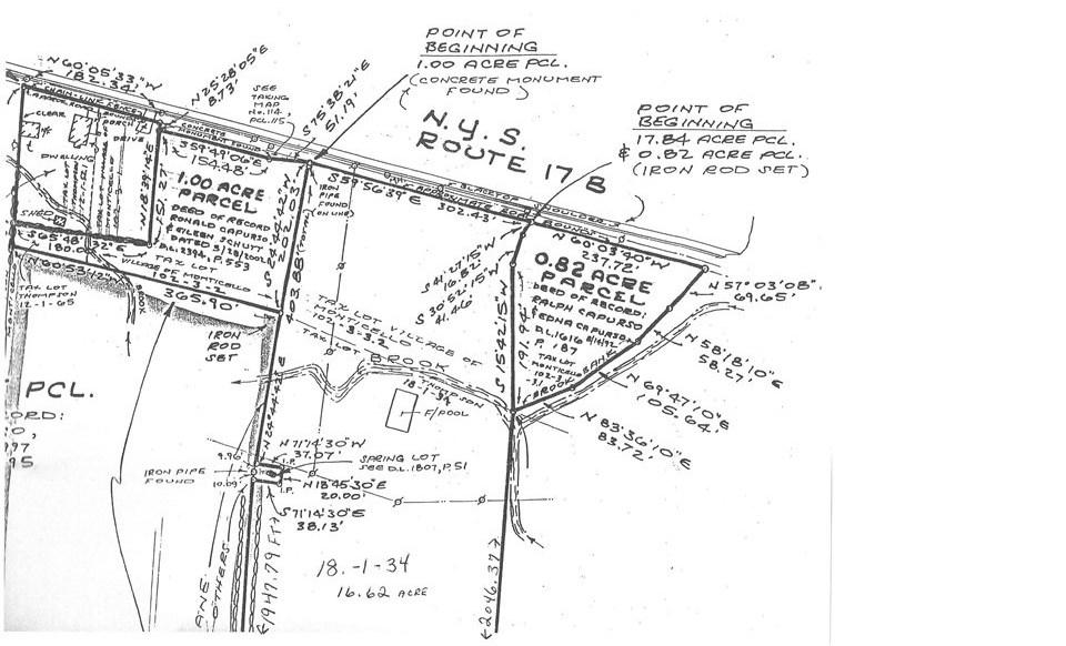 Image of Acreage for Sale near Monticello, New York, in Sullivan county: 17.84 acres
