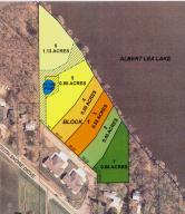 0.59 acres by Albert Lea, Minnesota for sale