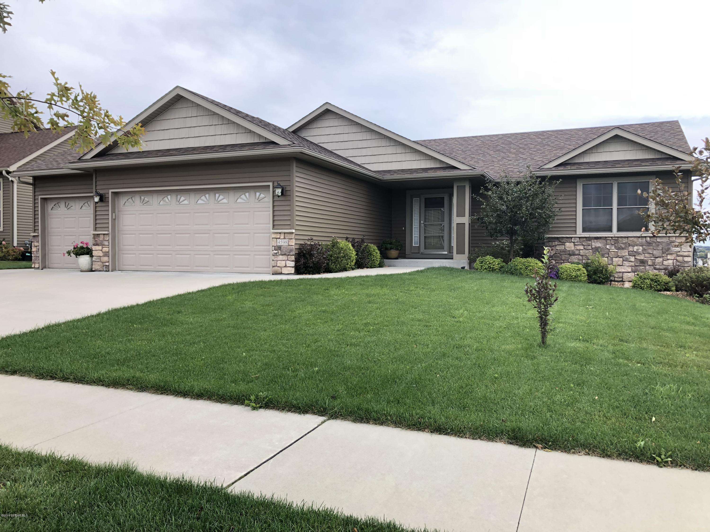 4598 Arctic Fox Road NW, Rochester in Olmsted County, MN 55901 Home for Sale