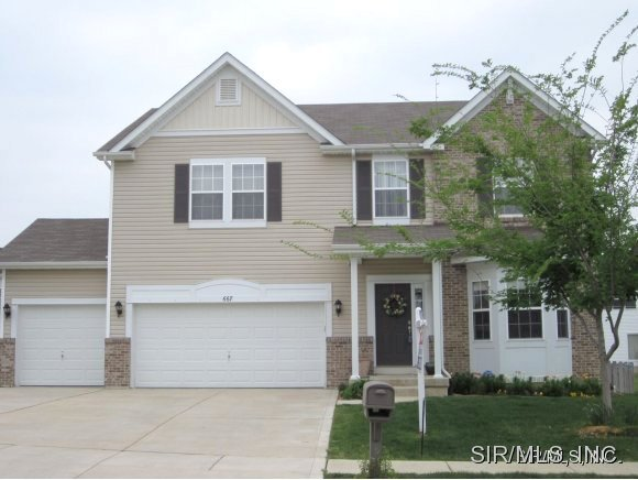 Rental Homes for Rent, ListingId:27509344, location: 667 ROYAL CREST Way O Fallon 62269