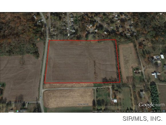 15 acres by Godfrey, Illinois for sale