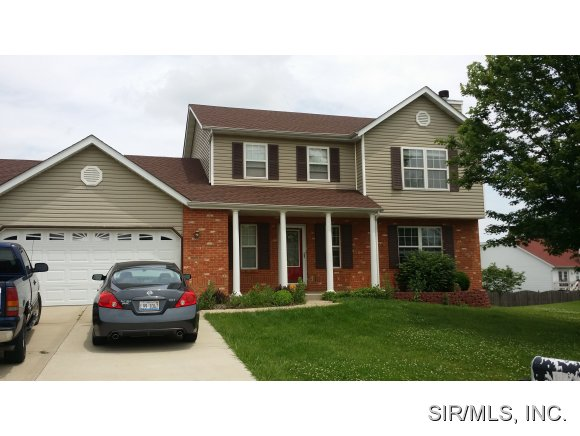 Rental Homes for Rent, ListingId:28605338, location: 108 SUNDOWN RIDGE Maryville 62062