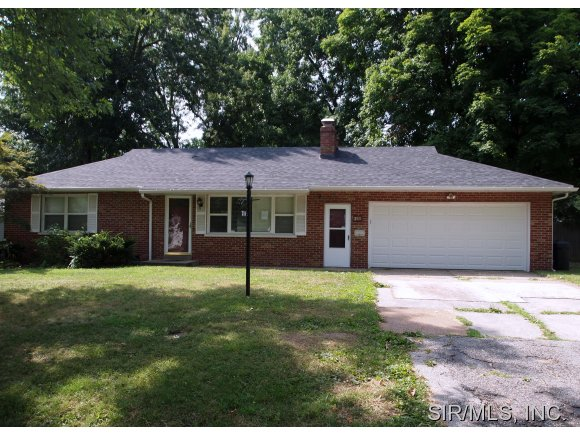 Rental Homes for Rent, ListingId:28861831, location: 211 OLIVER LEE Belleville 62223