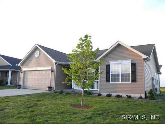 Rental Homes for Rent, ListingId:28902278, location: 625 MOORLAND Circle Mascoutah 62258
