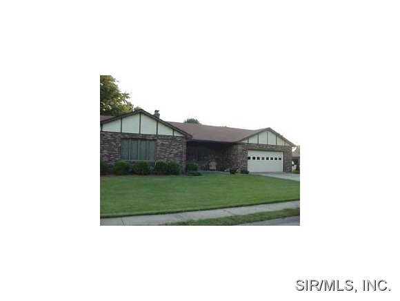 Rental Homes for Rent, ListingId:29292561, location: 525 MILLSTONE Drive Belleville 62221