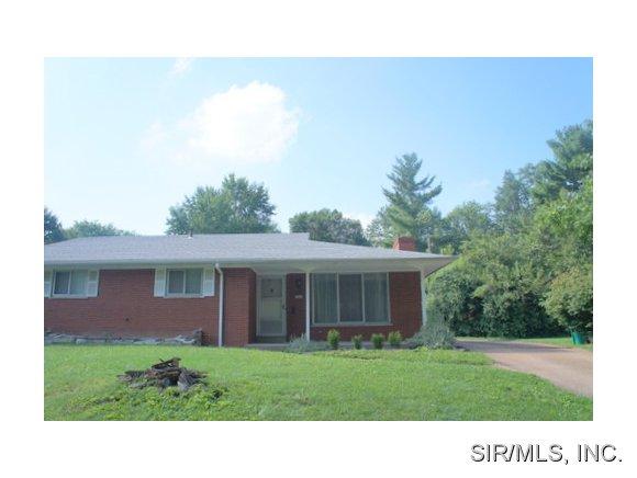 Rental Homes for Rent, ListingId:29577190, location: 25 LARKSPUR Drive Belleville 62221