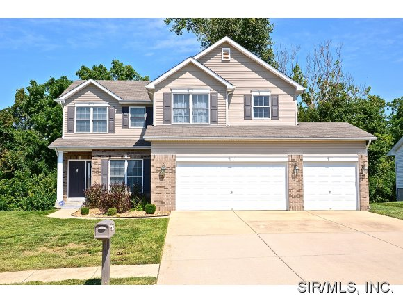 Rental Homes for Rent, ListingId:29787707, location: 15 BROADSTONE Drive Fairview Heights 62208
