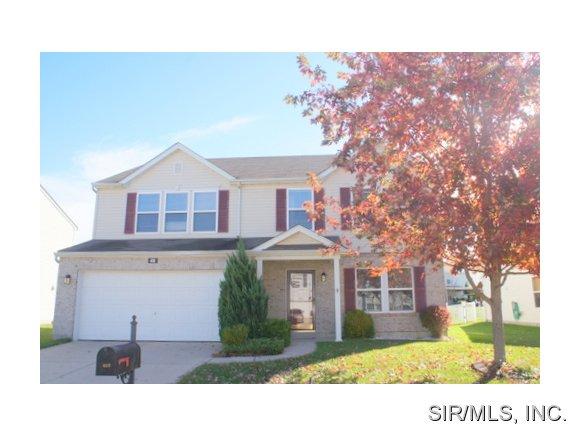 Rental Homes for Rent, ListingId:29943184, location: 419 FALLING LEAF Way Mascoutah 62258