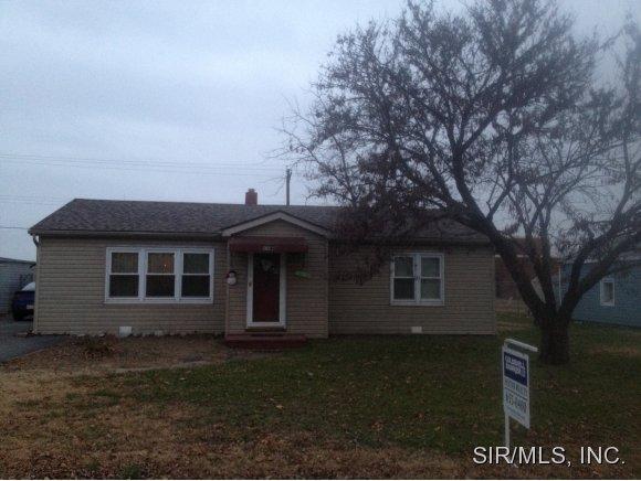 Rental Homes for Rent, ListingId:33592274, location: 1148 RHODES Street Granite City 62040