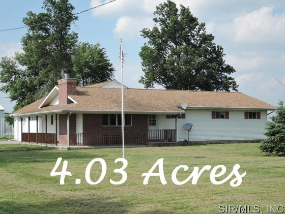 4.03 acres by Raymond, Illinois for sale