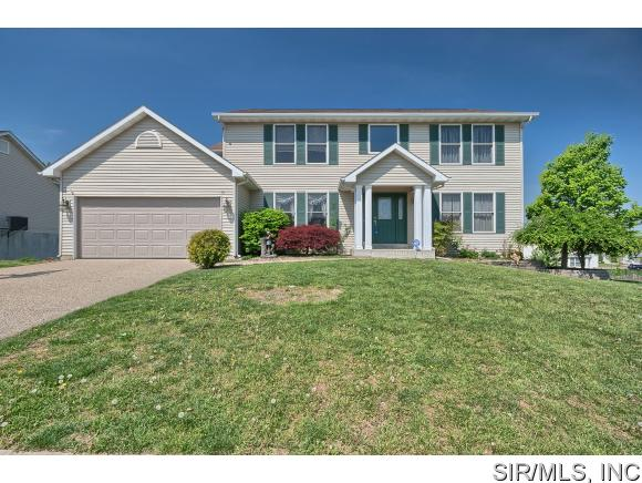 Rental Homes for Rent, ListingId:34588551, location: 3582 SKY HAWK Drive Shiloh 62221