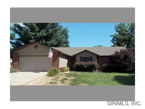 Rental Homes for Rent, ListingId:37266595, location: 437 TIMBERLINE Court Shiloh 62269
