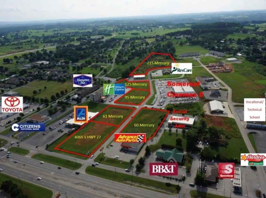 Image of Commercial for Sale near Somerset, Kentucky, in Pulaski county: 1.07 acres
