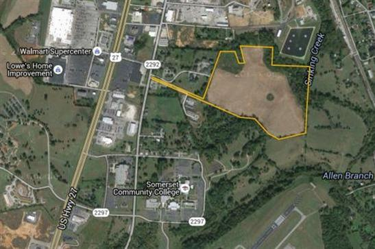 Image of Commercial for Sale near Somerset, Kentucky, in Pulaski county: 49.40 acres