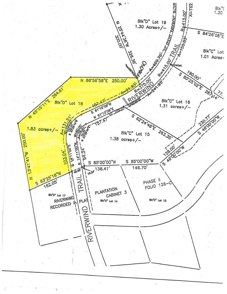 Lot 18 Riverwind Trail Block D Meigs, GA 31765