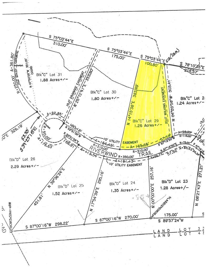 Lot 29 Riverwind Trail Block C Meigs, GA 31765