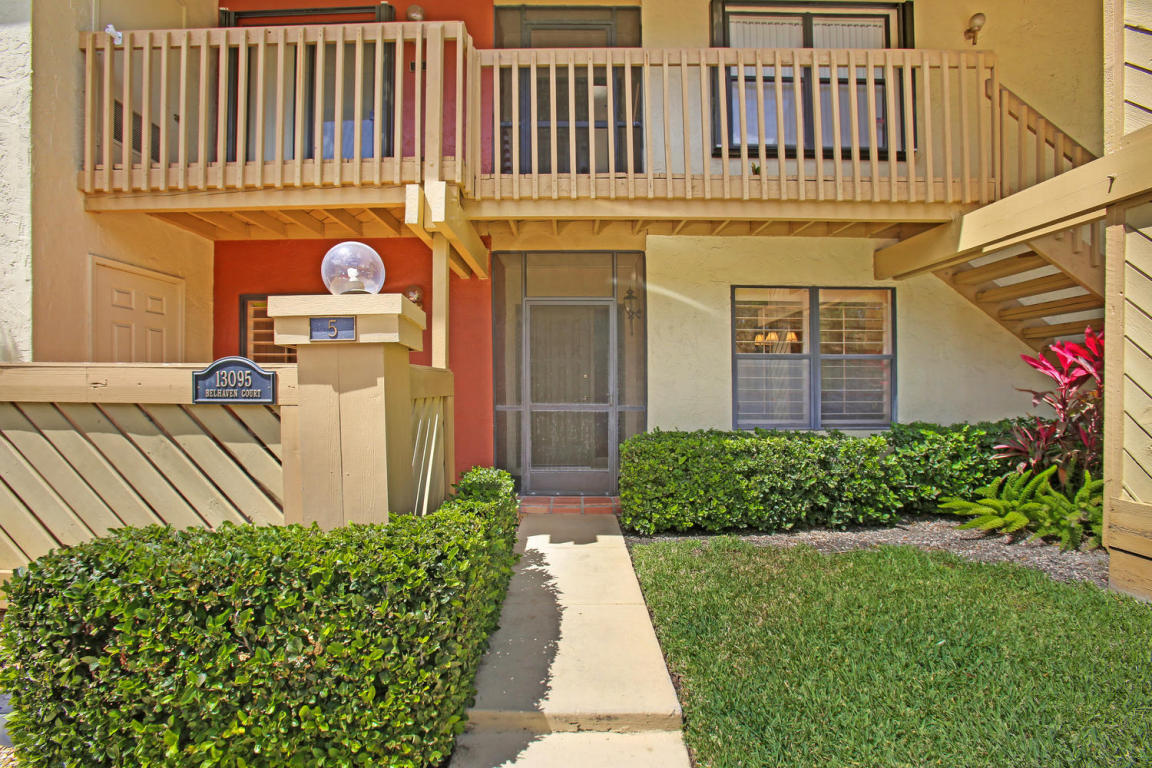 Photo of 13095 Belhaven Court Unit 5  Wellington  FL
