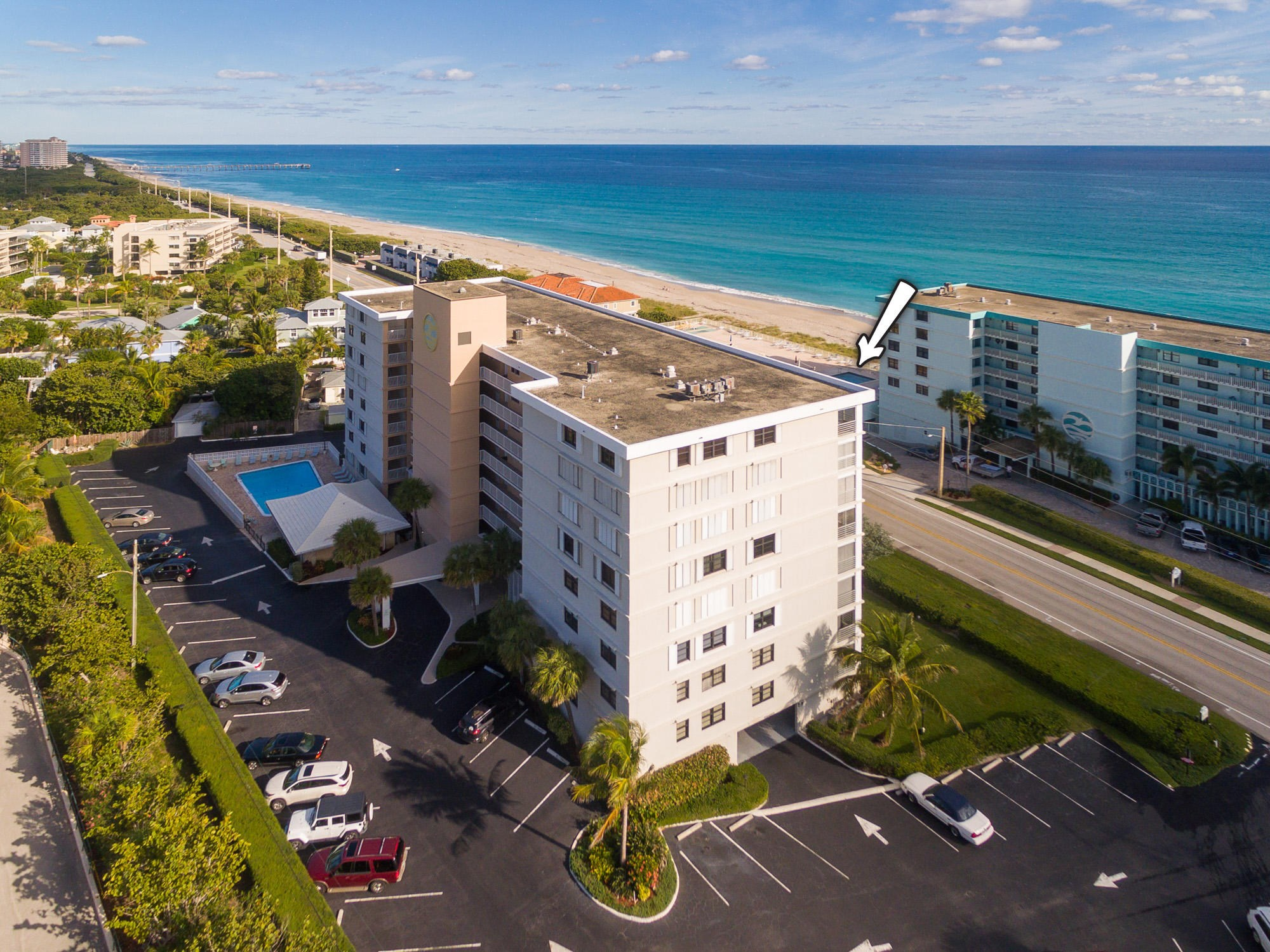 One of Juno Beach 3 Bedroom Homes for Sale at 911 Ocean Drive Unit 801