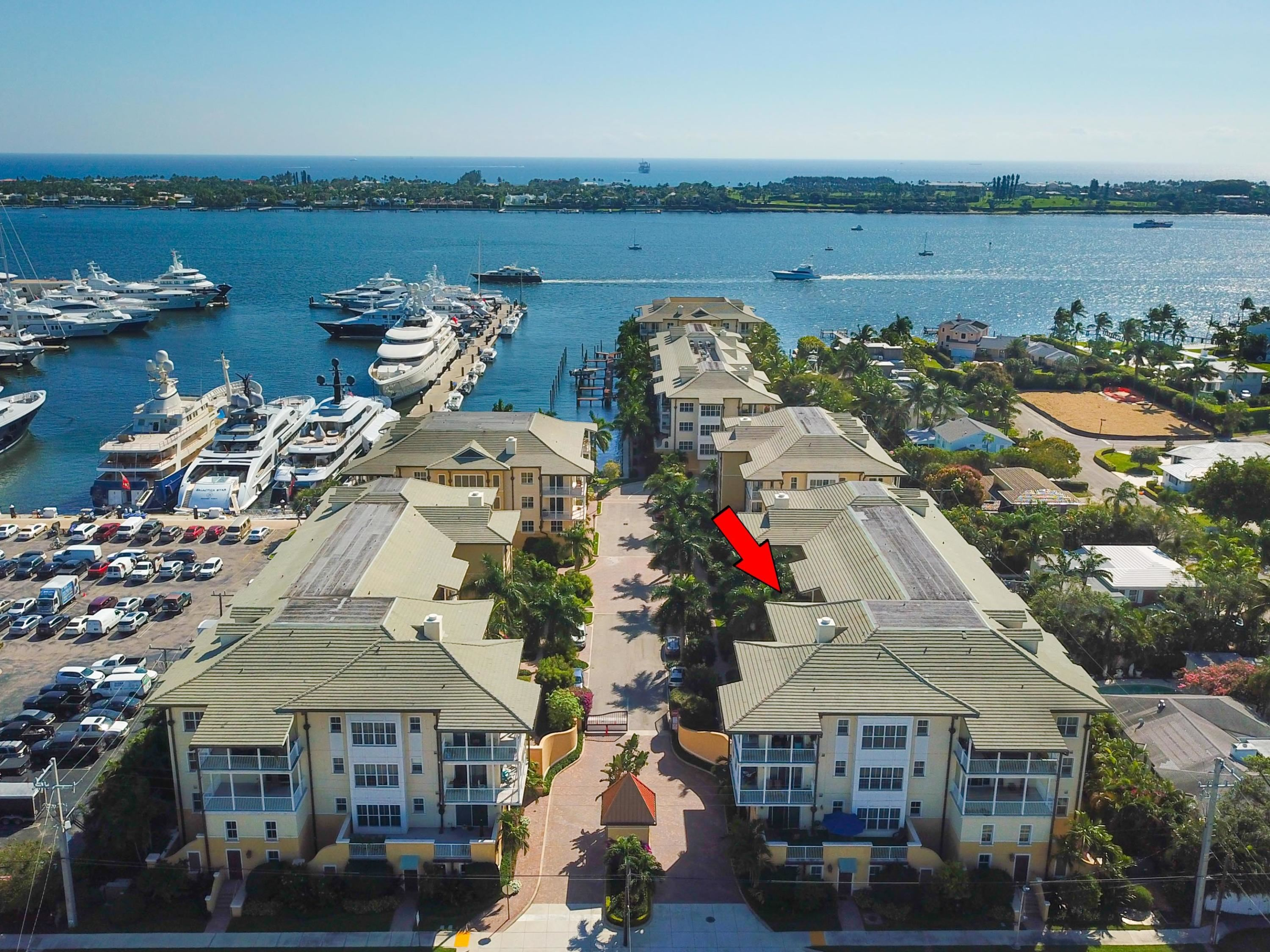3940 N Flagler Drive Unit 302, West Palm Beach in  County, FL 33407 Home for Sale