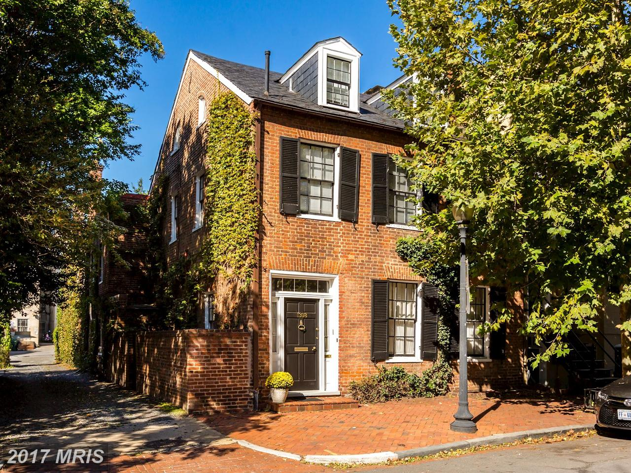 Single Family Home for Sale at Federal, Semi-Detached - WASHINGTON, DC 1308 29TH ST NW Washington, District Of Columbia,20007 United States