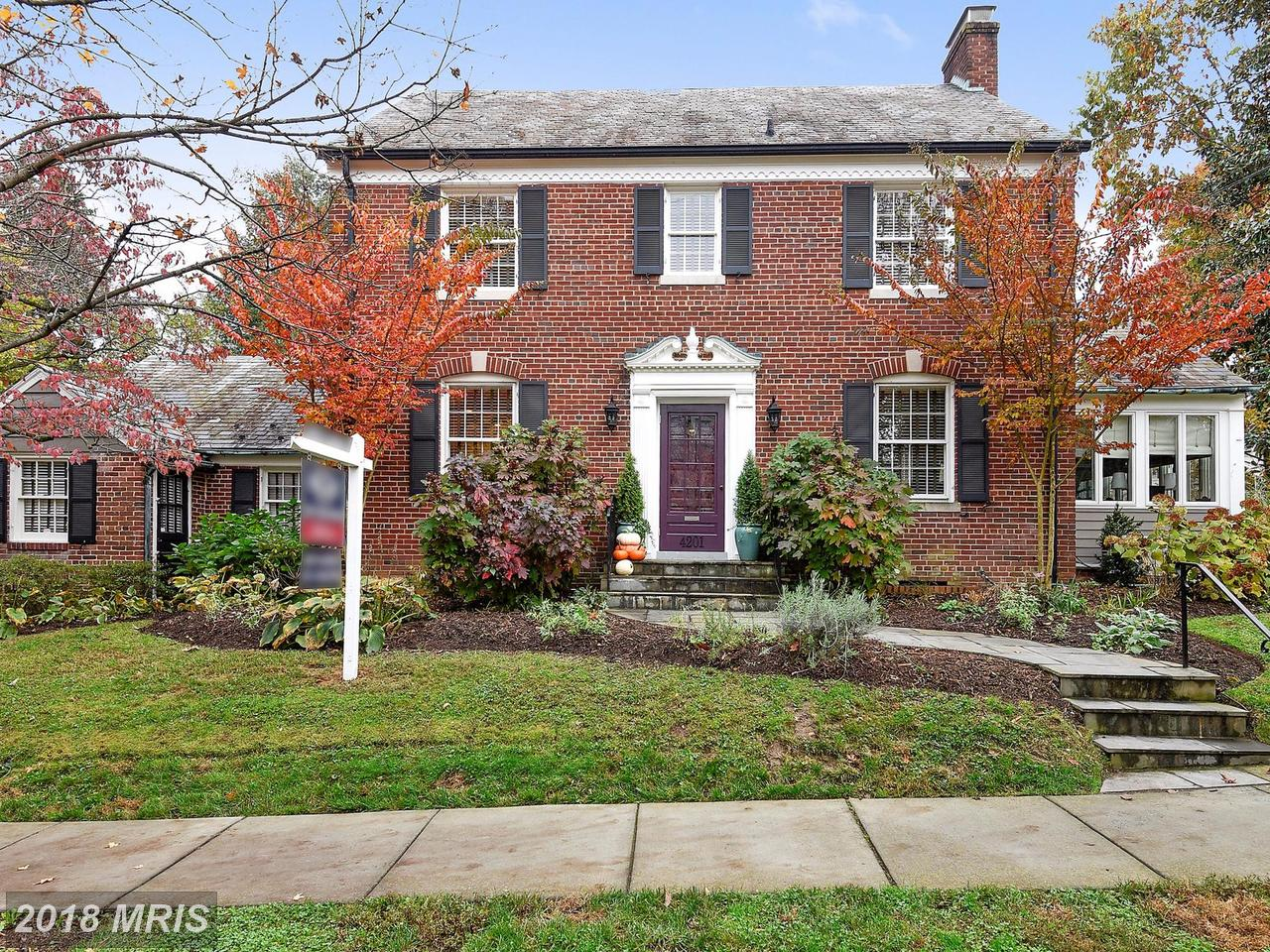 Single Family Home for Sale at Colonial, Detached - WASHINGTON, DC 4201 FORDHAM RD NW Washington, District Of Columbia,20016 United States