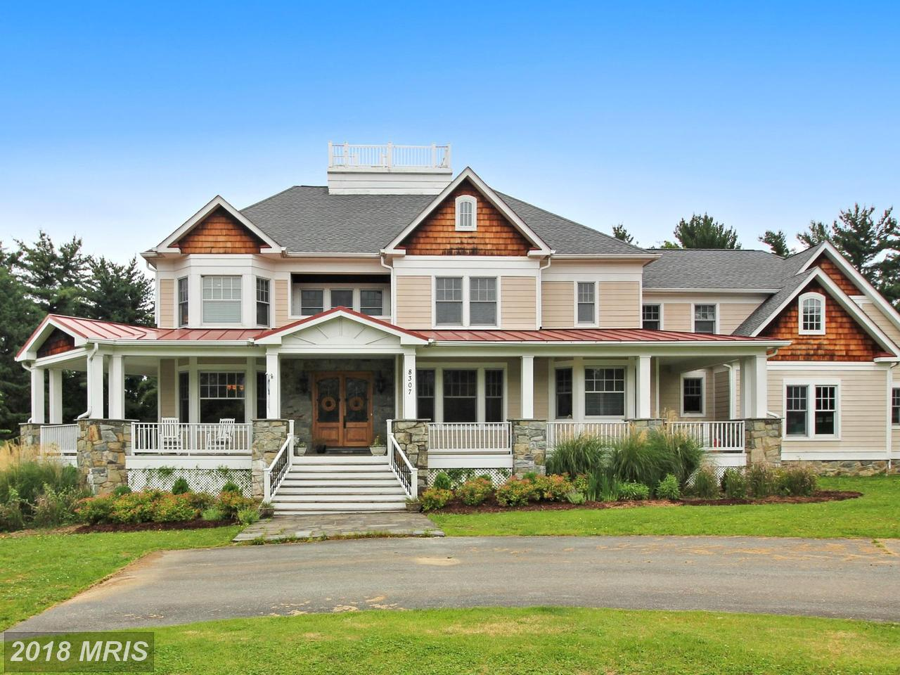Tek Ailelik Ev için Satış at Colonial, Detached - POTOMAC, MD 8307 HECTIC HILL LN Potomac, Maryland,20854 Amerika Birleşik Devletleri