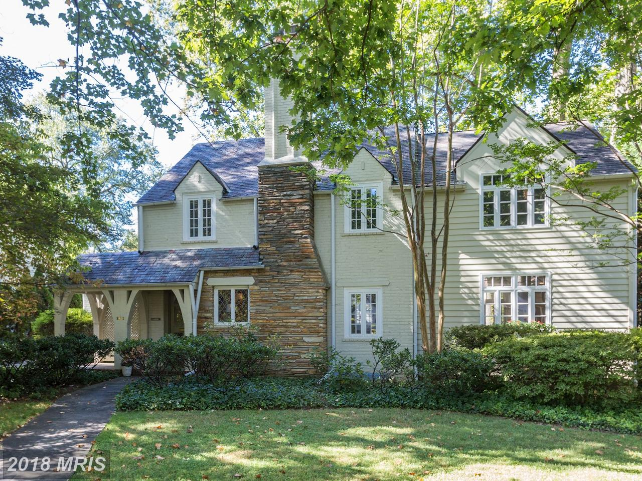 Single Family Home for Sale at Tudor, Detached - BETHESDA, MD 8012 HAMPDEN LN Bethesda, Maryland,20814 United States