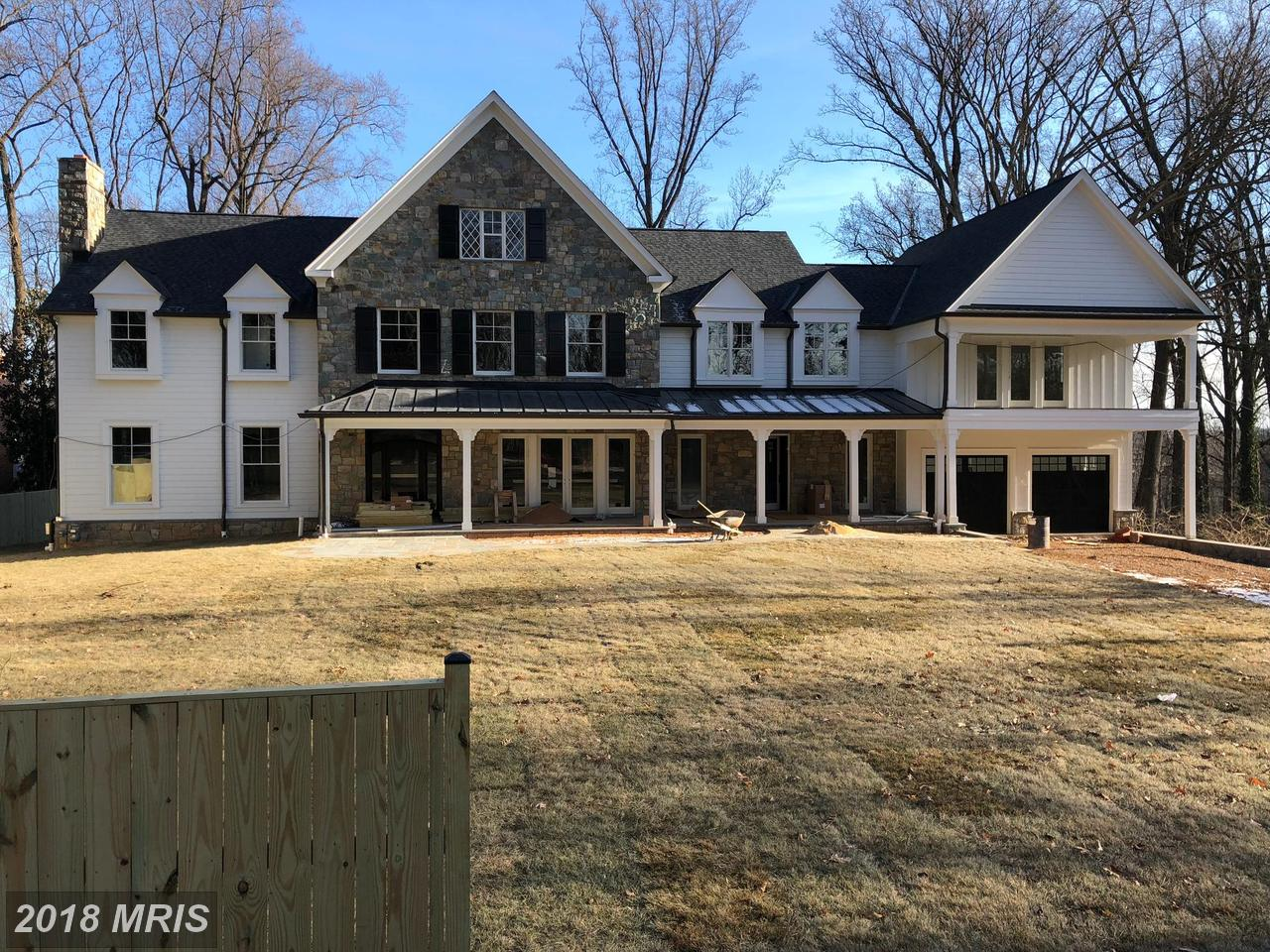 Maison unifamiliale pour l Vente à Manor, Detached - BETHESDA, MD 9117 BURDETTE RD Bethesda, Maryland,20817 États-Unis