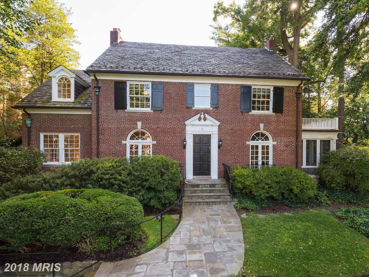 Single Family Home for Sale at Colonial, Detached - CHEVY CHASE, MD 202 PRIMROSE ST Chevy Chase, Maryland,20815 United States