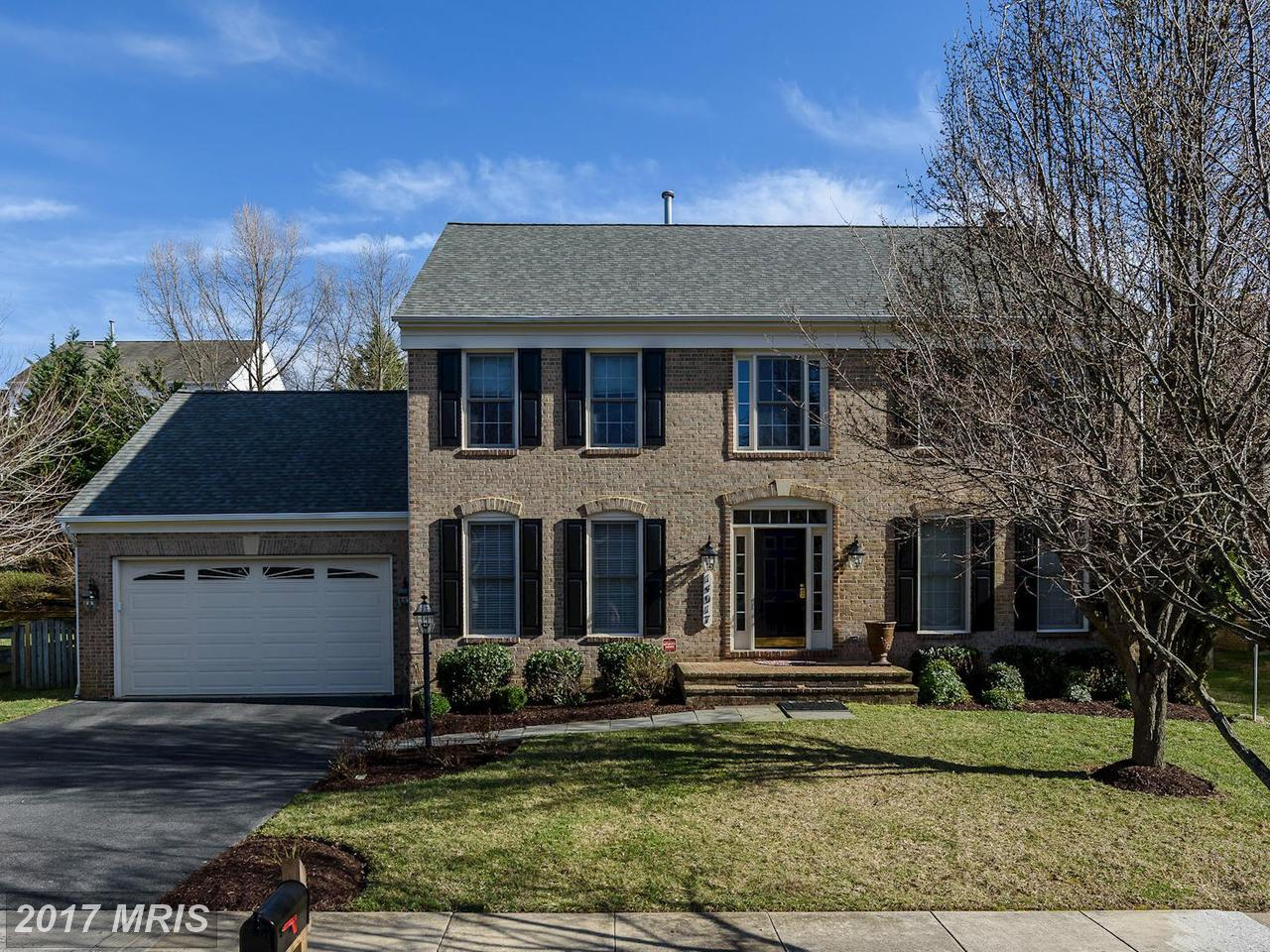 Single Family Home for Sale at Colonial, Detached - ROCKVILLE, MD 14017 LOBLOLLY TER Rockville, Maryland,20850 United States