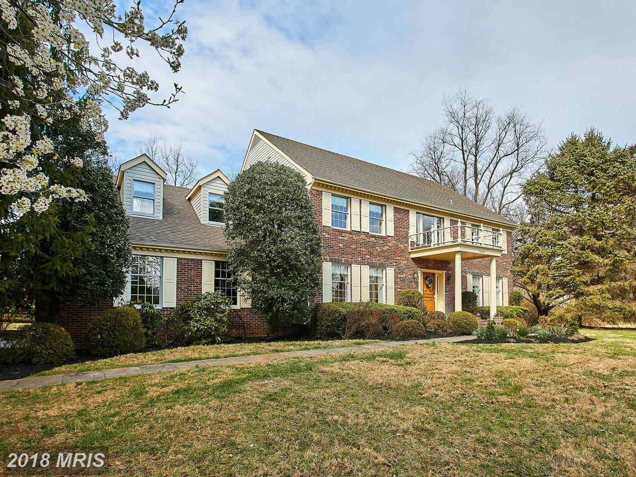Single Family Home for Sale at Colonial, Detached - POTOMAC, MD 10505 WHITE CLOVER TER Potomac, Maryland,20854 United States