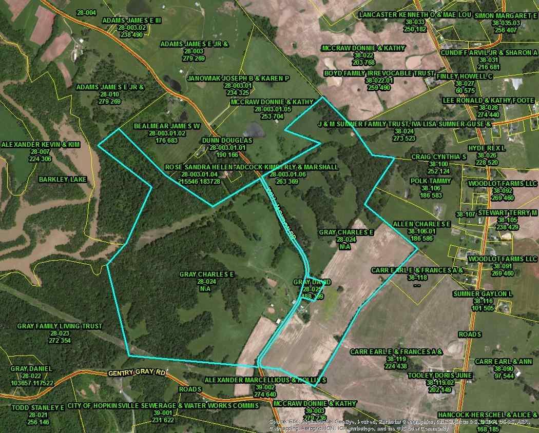 283 acres Cadiz, KY