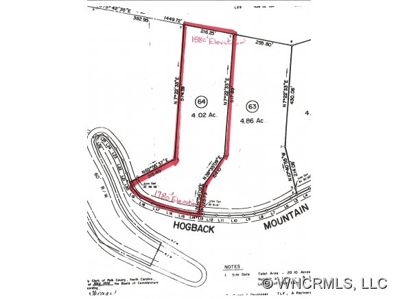 Hogback Mountain Rd, Tryon, NC 28782
