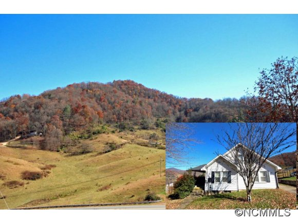72 acres in Clyde, North Carolina