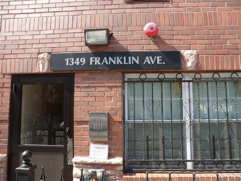 1349 Franklin Ave # UNIT: 3C, Bronx, NY 10456