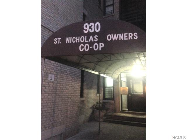 Rental Homes for Rent, ListingId:31603384, location: 930 St. Nicholas Avenue New York 10032