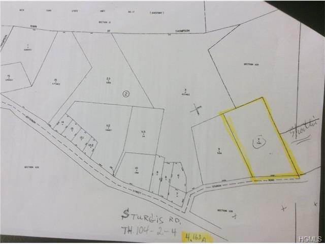 Image of Acreage for Sale near Monticello, New York, in Sullivan county: 4.16 acres