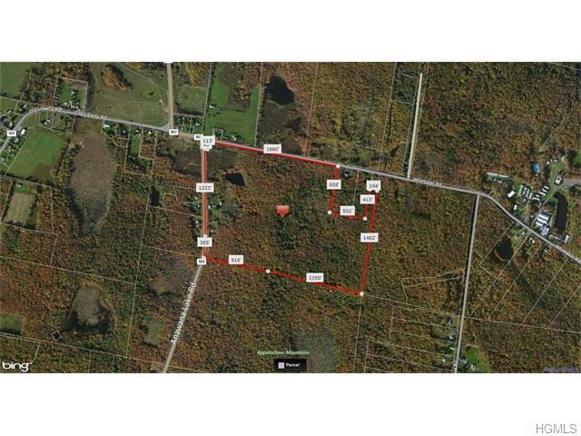 Image of Acreage for Sale near Monticello, New York, in Sullivan county: 78.20 acres