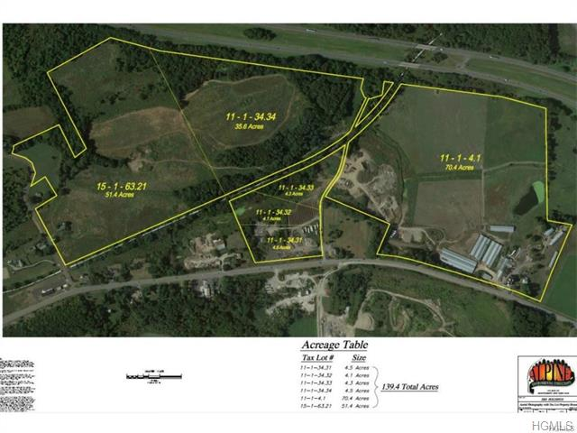 Image of Acreage for Sale near Slate Hill, New York, in Orange County: 175 acres
