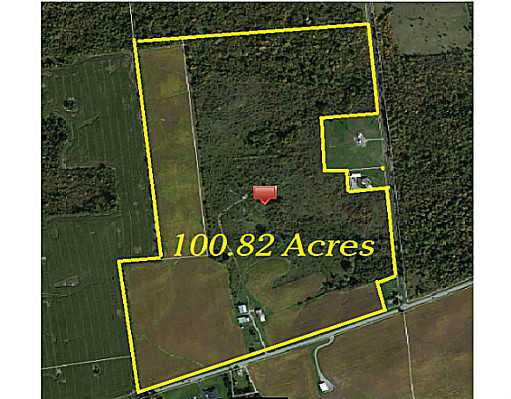 100.83 acres in Bellefontaine, Ohio