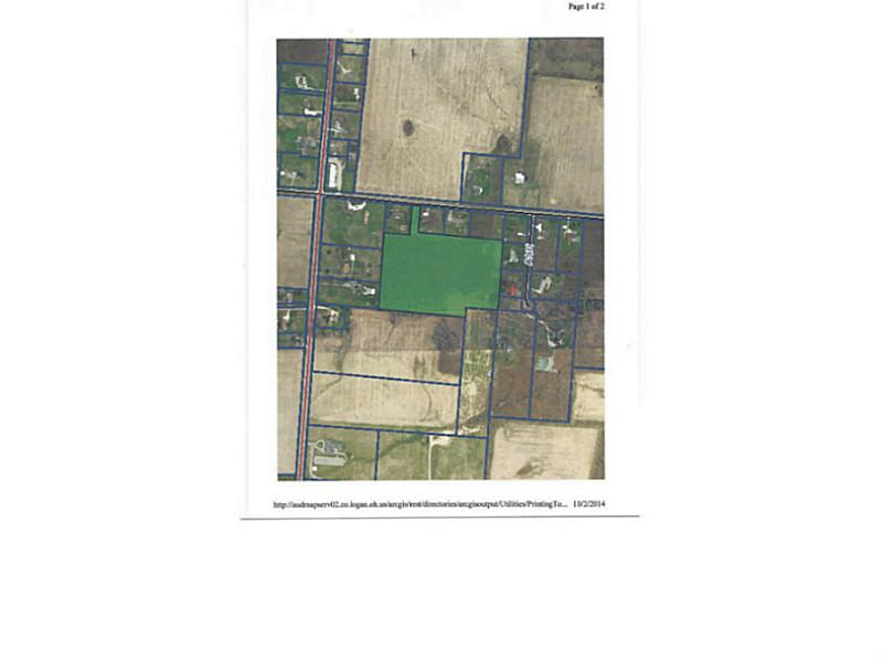 11.49 acres by West Liberty, Ohio for sale